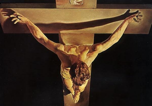 Cristo de San Juan de la Cruz de Salvador Dalí (1951).