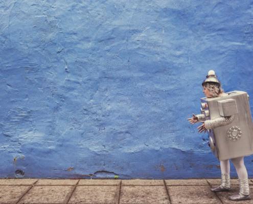 Banco de imágenes Gratisography - Robot Costume