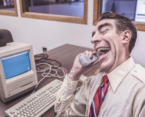 Banco de imágenes Gratisography - Corporate Worker on Phone