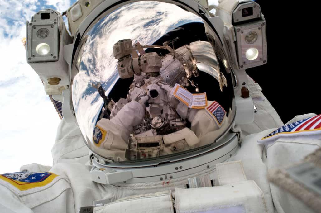Un selfie espacial